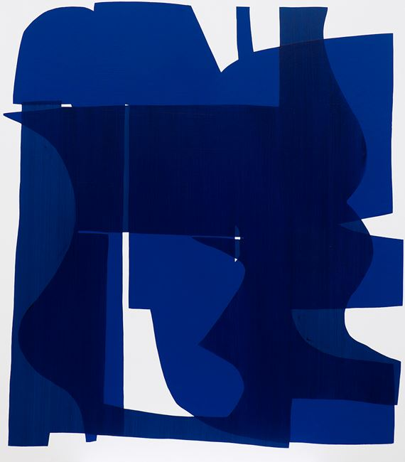 Legacy Compound 5 blue by Simon Degroot contemporary artwork