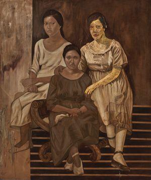 Tres Marias by Marina Cruz contemporary artwork
