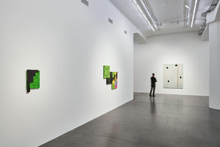 Exhibition view:Mary Heilmann, Past Present Future, Hauser & Wirth, Zurich (online from 6 February–14 May 2021). © Mary Heilmann. Courtesy the artist andHauser & Wirth. Photo: Jon Etter.