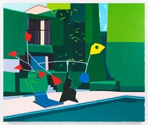 La Colombe d'Or by Guy Yanai contemporary artwork
