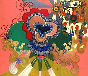 Romântica Americana by Beatriz Milhazes contemporary artwork