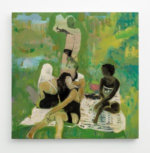 Picnic by Kate Gottgens contemporary artwork