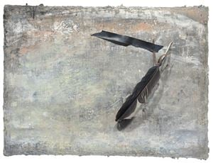 Black Feather 黑羽 by Szeto Keung contemporary artwork