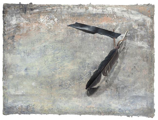 Black Feather 黑羽 by Szeto Keung contemporary artwork