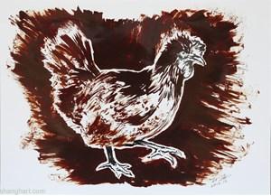 Hen by Sun Xun contemporary artwork