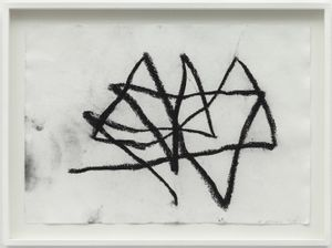 Performance Drawing I, Reading Dante by Joan Jonas contemporary artwork painting, works on paper
