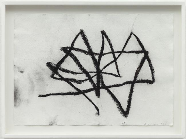 Performance Drawing I, Reading Dante by Joan Jonas contemporary artwork