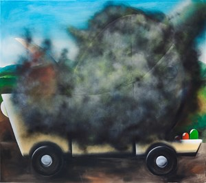 Untitled (Dusty) by Andreas Schulze contemporary artwork