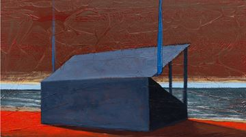 Contemporary art exhibition, Derek Cowie, Paintings at Page Galleries, Wellington