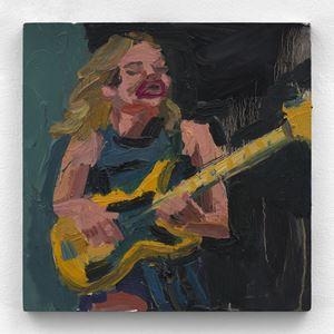 Bass face by Todd Bienvenu contemporary artwork