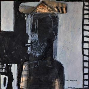 Untitled by Mahmoud Obaidi contemporary artwork painting