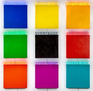 EVERYBODY by Deborah Kass contemporary artwork