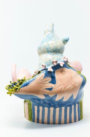 Lactivist by Holly Stevenson contemporary artwork sculpture