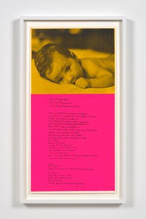 christy by Corita Kent contemporary artwork print