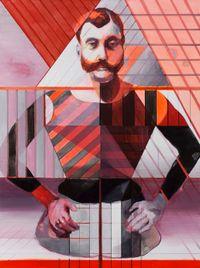 Half-Man by Ce Jian contemporary artwork painting