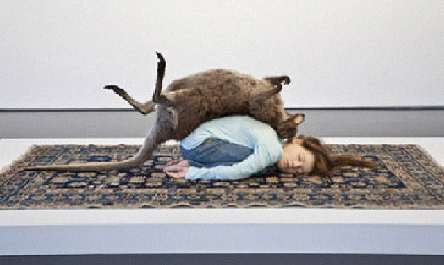 Balasana by Patricia Piccinini contemporary artwork