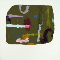 Luck Stirrer (Tray) by Marie Le Lievre contemporary artwork painting