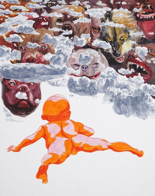 2014 – 2017 by Fang Lijun contemporary artwork
