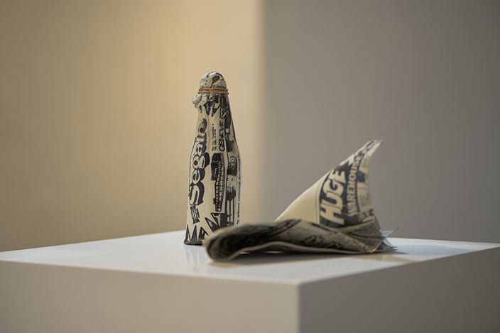 Exhibition view: Kimiyo Mishima, SHOP Taka Ishii Gallery (9 February–21 March 2021). Courtesy Taka Ishii Gallery. Photo: Anthony Kar-Long Fan.