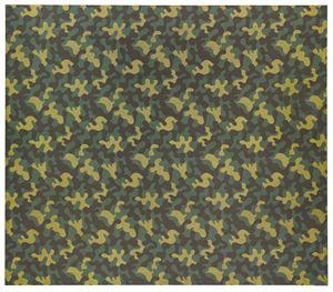 Mimetico (Camouflage) by Alighiero Boetti contemporary artwork