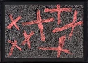 Ganyu - Stars by Nyapanyapa Yunupiŋu contemporary artwork painting