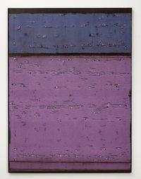 Violeta cámbrico by Enrique Brinkmann contemporary artwork painting