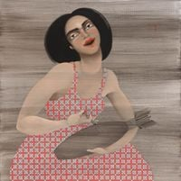 Lethal injection by Hayv Kahraman contemporary artwork painting, works on paper