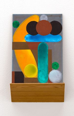 She said, he said by Denys Watkins contemporary artwork painting, works on paper, sculpture