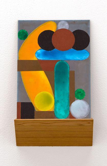 She said, he said by Denys Watkins contemporary artwork