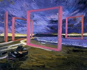 Portrait in Jazz by Toru Kuwakubo contemporary artwork