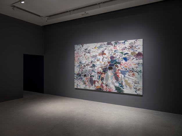 Exhibition view: Huang Yuanqing, Motives of Lines, Pearl Lam Galleries, Pedder Street, Hong Kong (27 March-11 May 2018). Courtesy Pearl Lam Galleries.