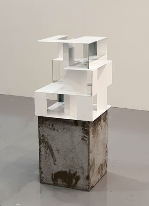 structure1 by Jeong Jeong-ju contemporary artwork sculpture, mixed media