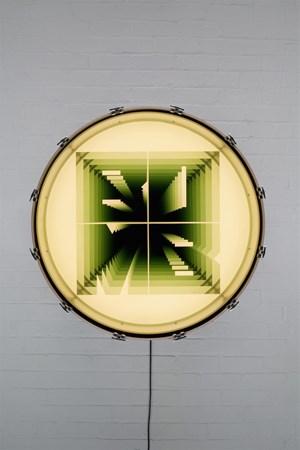 Bomb by Iván Navarro contemporary artwork