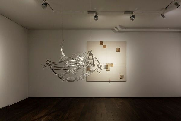 Exhibition view: Chu Weibor & Lee Tsai-chien, Form without Boundaries, Asia Art Center, Taipei (3 October–29 November 2020). Courtesy Asia Art Center.