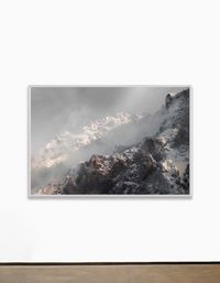 """Panorama 52°29'54.7N 13°22'18.1""""E by Julian Charrière contemporary artwork painting"""