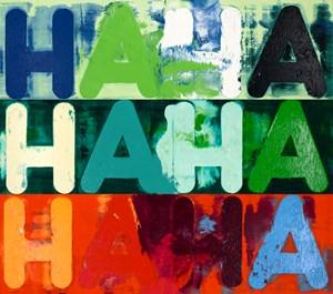 Ha Ha Ha by Mel Bochner contemporary artwork