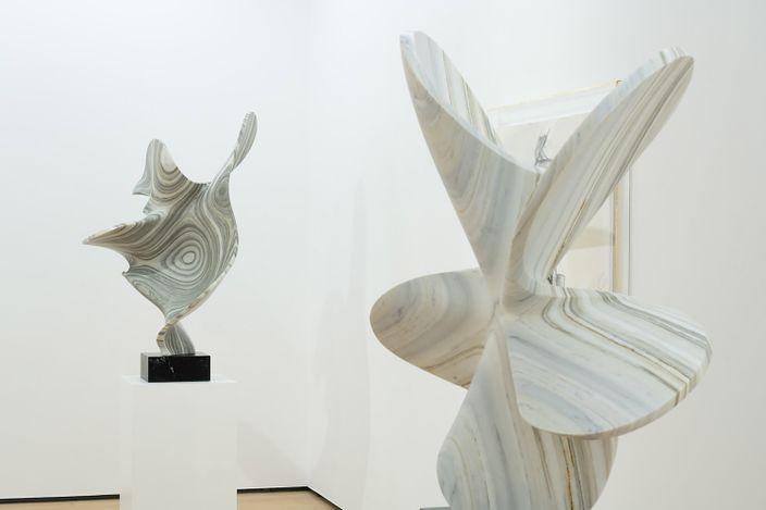 Exhibition view: Sylvestre Gauvrit, I AM LIKE YOU,Whitestone Gallery, Hong Kong(3–31 July 2021). Courtesy Whitestone Gallery.
