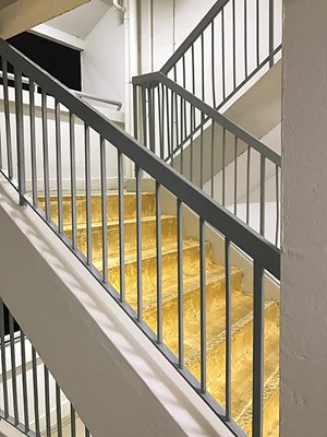 The Golden Staircase by Priyageetha Dia contemporary artwork