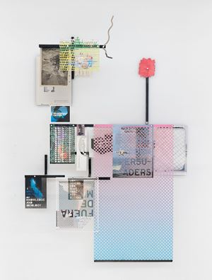 Setting up a system: The Hidden persuaders by Iván Argote contemporary artwork