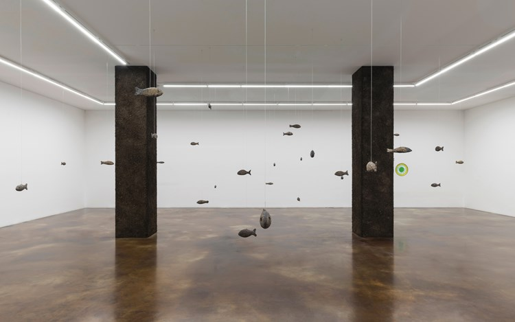 Exhibition view: Ugo Rondinone, earthing, Kukje Gallery, K2, Seoul (16 May–30 June 2019). Image provided by Kukje Gallery.