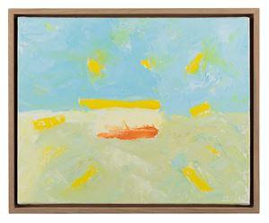 Horizon 6 by Etel Adnan contemporary artwork