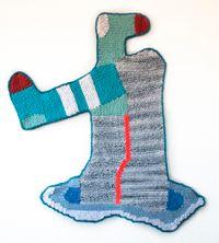 Classical Portal by Caroline Wells Chandler contemporary artwork textile