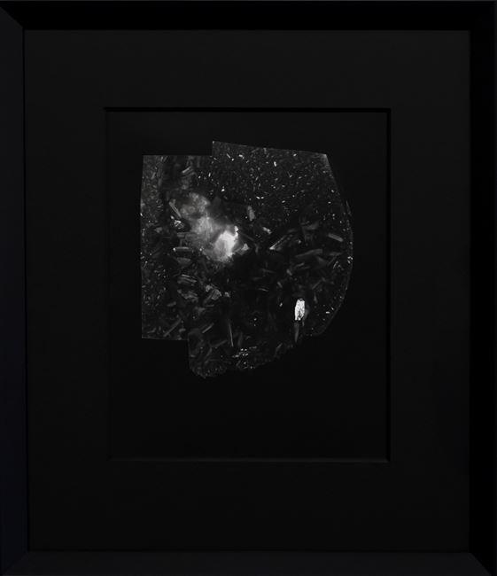 Hatch 2 (Process study) by Joyce Campbell contemporary artwork