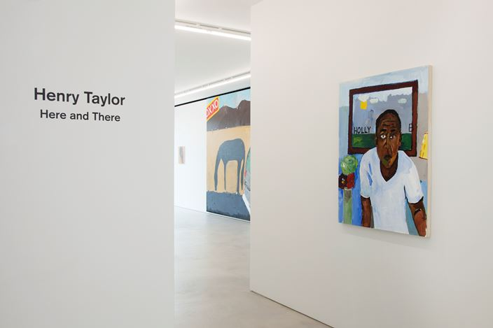 Exhibition view: Henry Taylor, Here and There (24 March–19 May 2018). © Henry Taylor. Courtesy the artist and Blum & Poe, Los Angeles / New York / Tokyo.