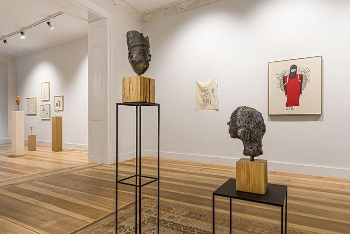Exhibition view: Patricia Dreyfus, Lettre à moi-même #2,Galerie Albrecht, Berlin (5 December 2020–30 January 2021). Courtesy Galerie Albrecht.