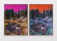 Dream Lake Trail (PC, M, Y, B, G, PM, LG, C) (PM, Y, C, B, G, M , LG, PC) by Evan Trine contemporary artwork print