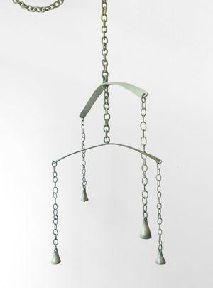 Bell Tower (green) by Jaime Jenkins contemporary artwork sculpture