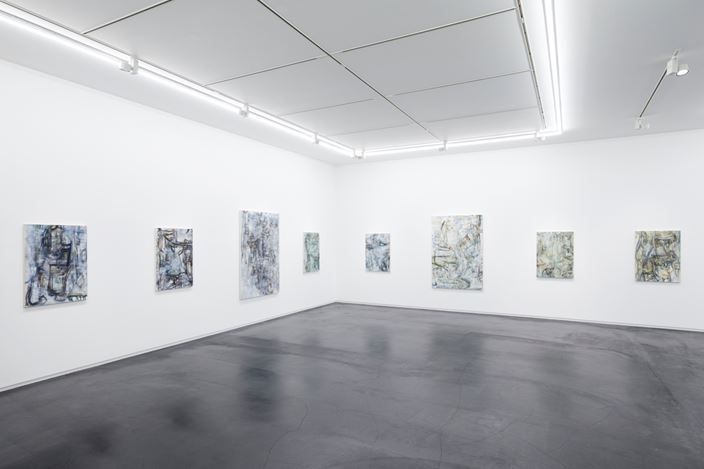 Exhibition view: Nobuya Hoki, Solo Exhibition, Taka Ishii Gallery, Tokyo (14 September–12 October 2019). Courtesy Taka Ishii Gallery. Photo: Kenji Takahashi.