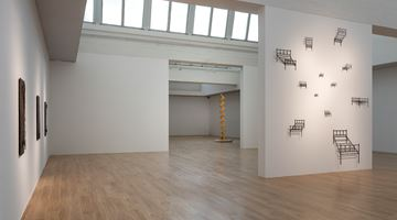 Contemporary art exhibition, Cai Lei, Block at Tang Contemporary Art, Beijing 2nd Space