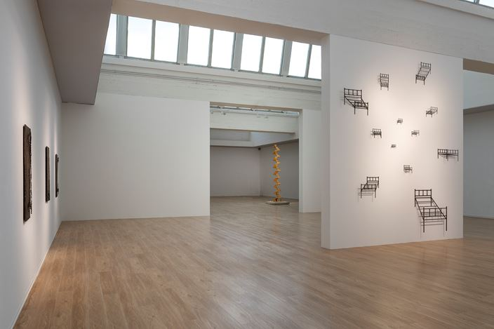 Exhibition view: Cai Lei, Block, Tang Contemporary Art, Beijing 2nd Space (5 September–18 October 2020). Courtesy Tang Contemporary Art, Beijing.